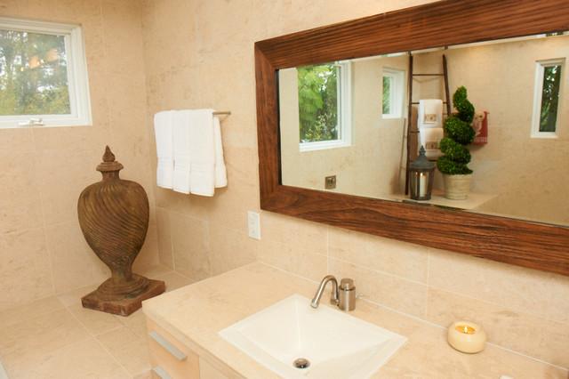Villa by the Sea eclectic-bathroom