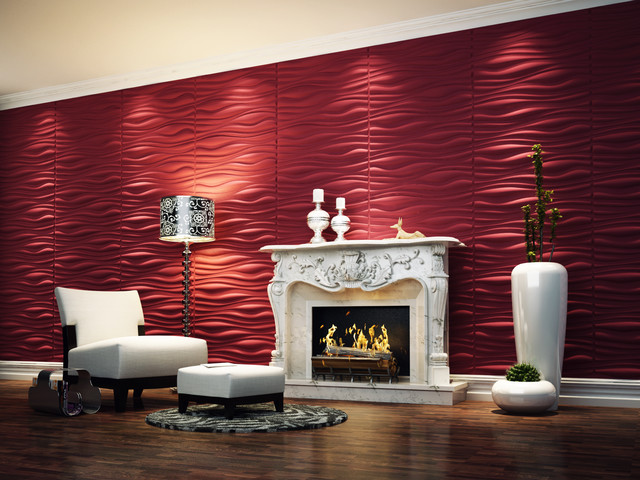 threeDwall contemporary wallpaper