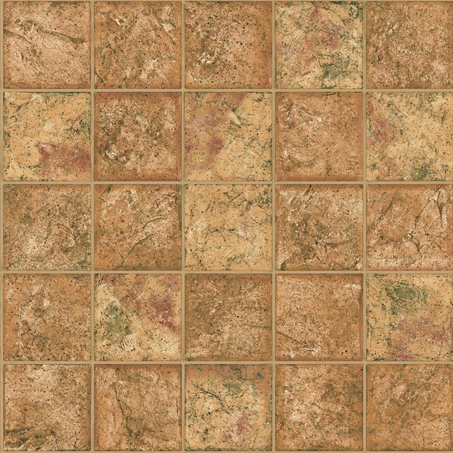 The wallpaper company brown earth tone ceramic tile for Home depot bathroom wallpaper