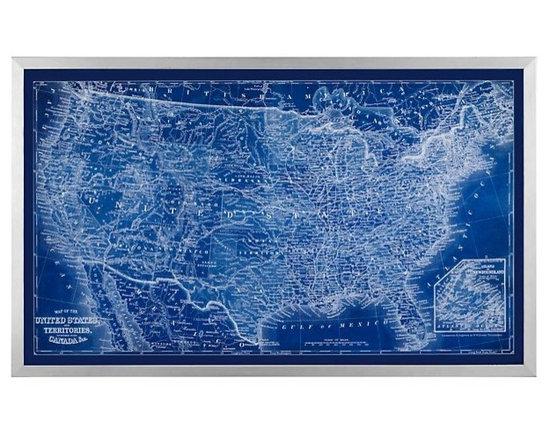 Sapphire USA Map -