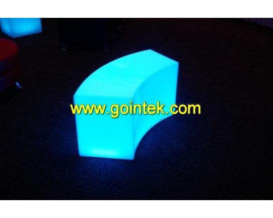 lounge bench with led -