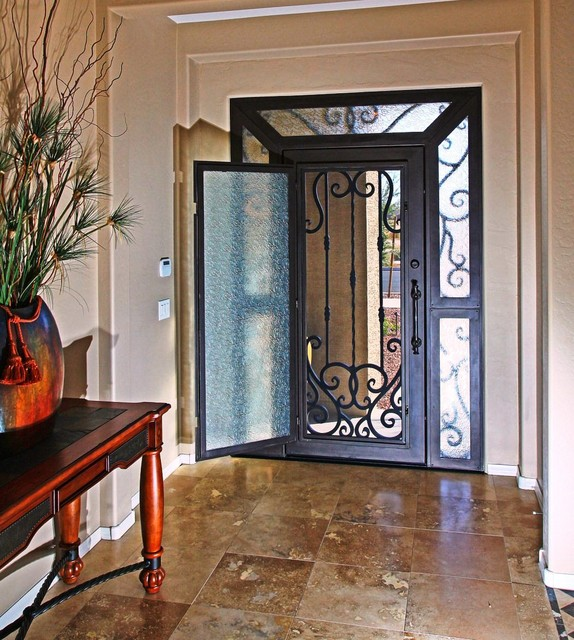 Iron Entry Door By First Impression Security Doors