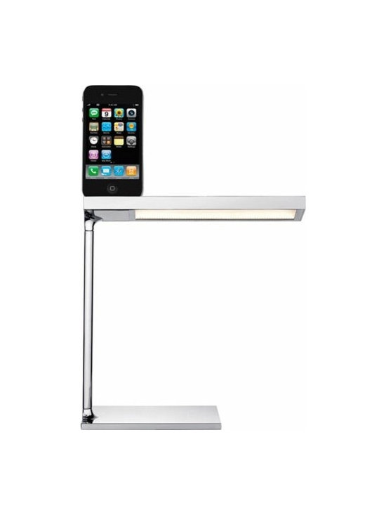 D'e-Light Led Table Lamp By Flos Lighting - D-E Light by Flos is an LED table lamp.