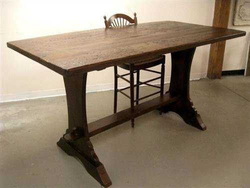 Counter Height Farm Table : Bar Height 42