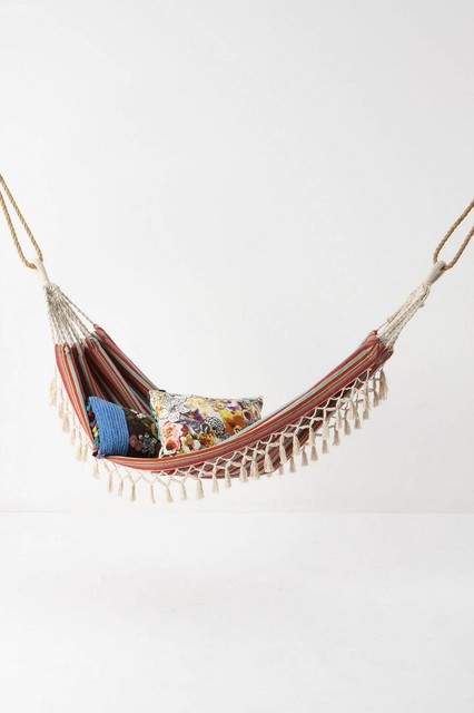 Vibrant Afternoon Hammock contemporary-hammocks-and-swing-chairs