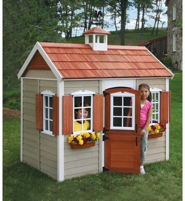 The Savannah Wood Playhouse contemporary-outdoor-playhouses