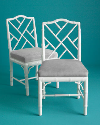 Jonathan Adler Each Chippendale Side Chair traditional-dining-chairs