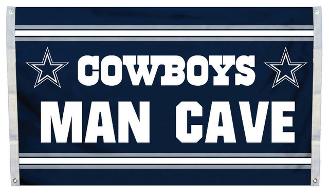 Dallas Cowboys Man Cave Accessories : Dallas cowboys nfl ft man cave banner flag modern