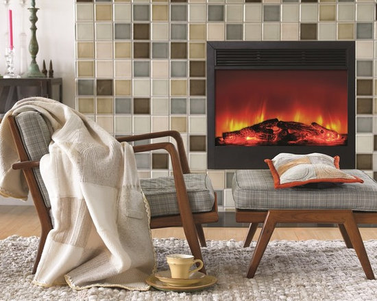 Dynasty SD33 electric fireplace insert - Jeanne Grier/Stylish Fireplaces & Interiors