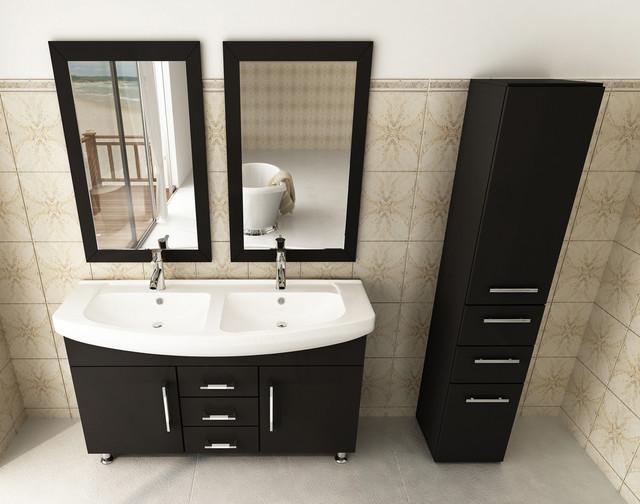 48 celine double bathroom vanity modern by bathgems