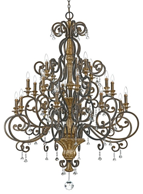 Quoizel MQ5020HL Marquette Traditional Chandelier traditional-chandeliers