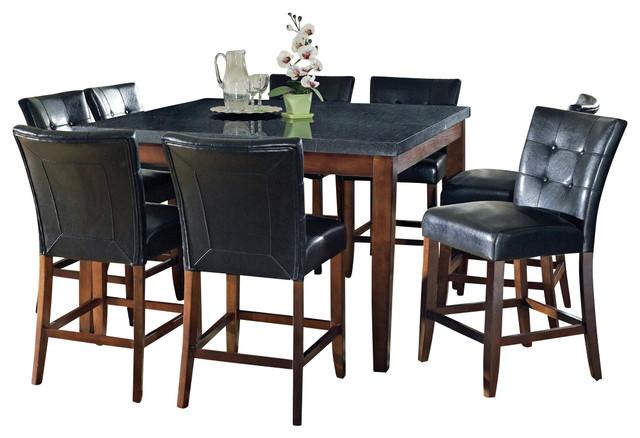 28 steve silver furniture xander 9 piece counter height ste