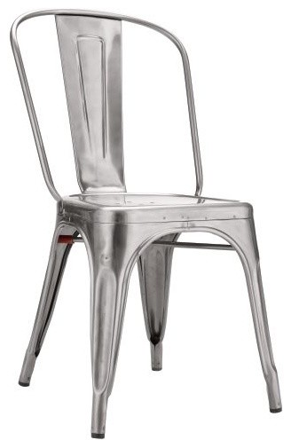 Tolix Marais A Chair Industrial Dining Chairs By Design Within Reach