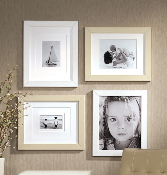 Perfect Frame Leather Wall Frame traditional-picture-frames