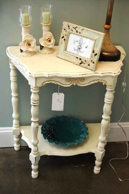 Refurbished Furniture Eclectic Side Tables And End