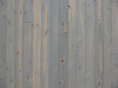 Beetle Kill Pine showing semi-transparent oil based stain (color: Sea Gull Grey