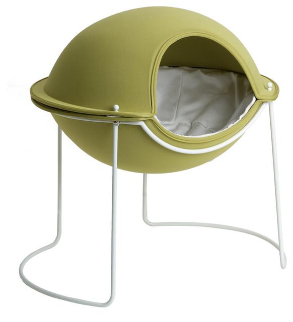 Hepper Pod Pet Bed - Green modern-pet-beds