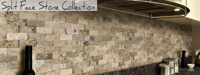 Split Face Stone Collection Scabos Travertine