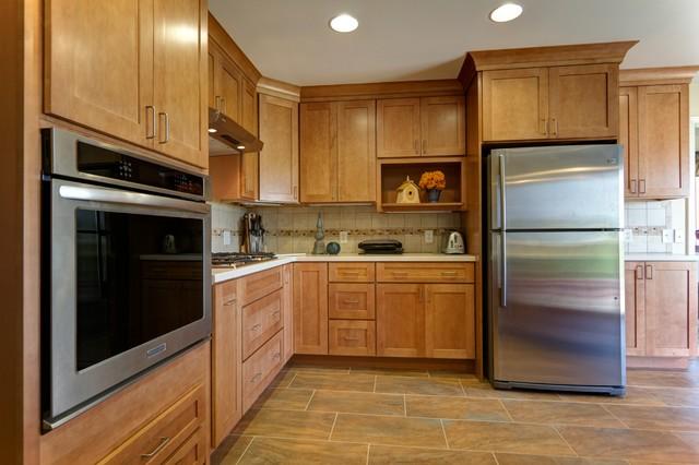 Belding MI Kitchen traditional-kitchen