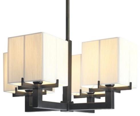 Boxus 4-Light Square Linear Suspension contemporary-pendant-lighting