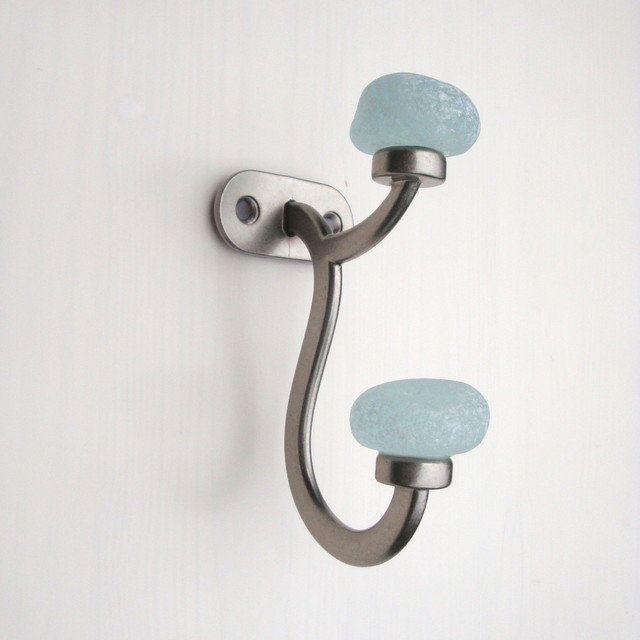 recycled glass sea coat towel wall robe hook