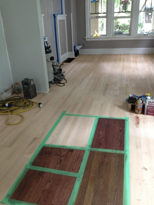 Red oak floors is there a way to protect them and keep Unstained hardwood floors