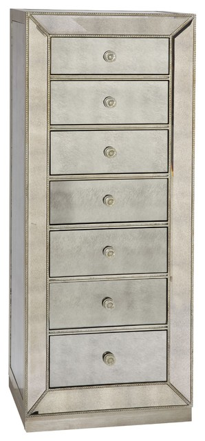 Bassett Mirror Murano Linen Chest T2624 227 Traditional Accent Chests And Cabinets