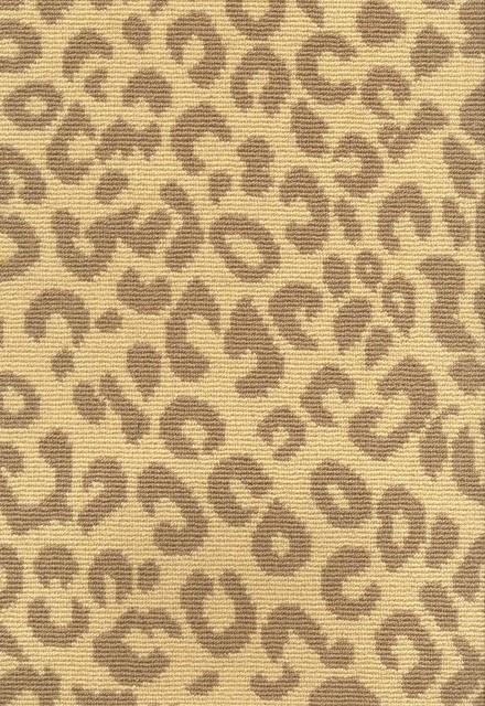 Leopard print carpet traditional carpet tiles by for Leopard print wall to wall carpet