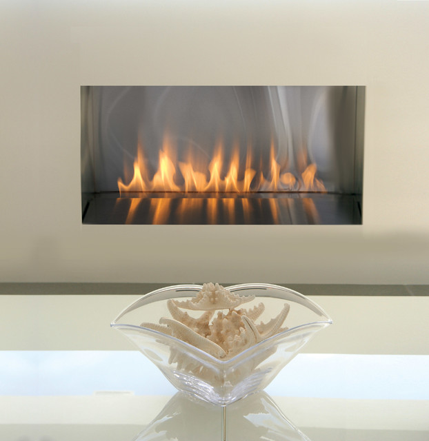 Spark Fire Ribbon Vent Free 3ft Modern Fireplaces By