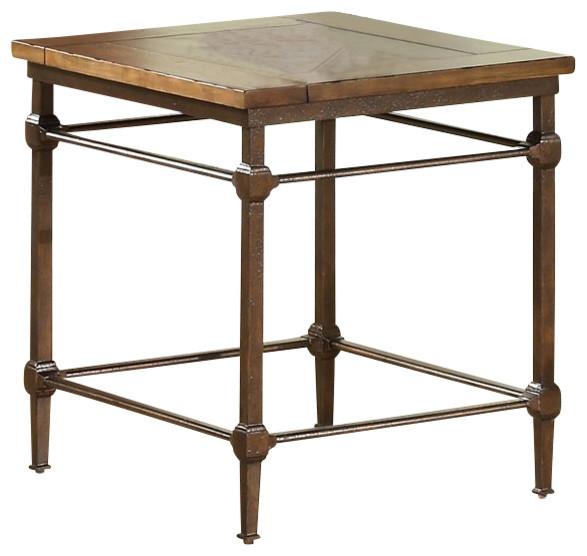 riverside furniture casa grande end table in saltillo ash transitional side tables and end. Black Bedroom Furniture Sets. Home Design Ideas