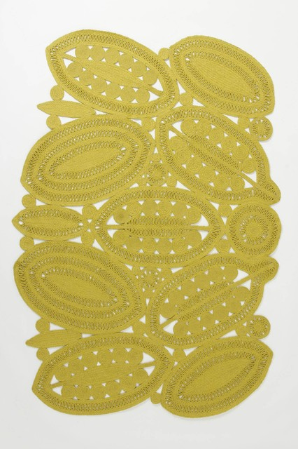 Entwined Leaf Rug contemporary-rugs