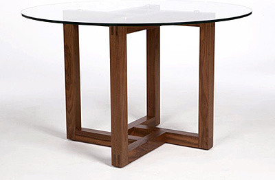 Canto Round Pedestal Table contemporary-dining-tables