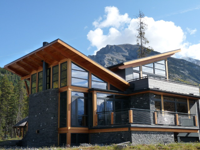mountain retreat contemporary