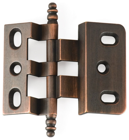 3-8-OFFSET-VB Venetian bronze offset cabinet hinge - Traditional - Hinges - philadelphia - by ...