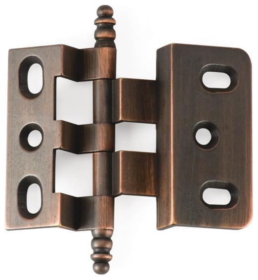 OFFSET-VB Venetian bronze offset cabinet hinge - Traditional - Hinges ...
