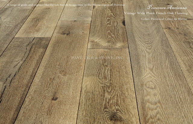 Provence Ancienne Wide Plank French Oak Flooring ...