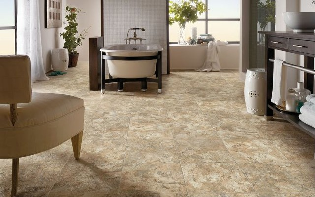 Armstrong Sheet Vinyl contemporary-vinyl-flooring