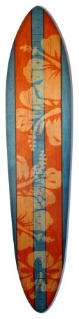 Wooden Surfboard Growth Chart eclectic-growth-charts