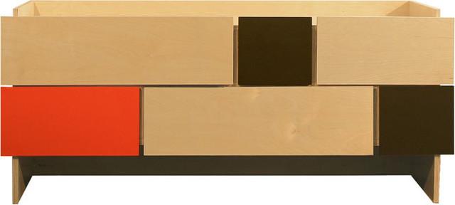 notNeutral - Tetra 3 - 6 Drawer Cabinet modern-dressers