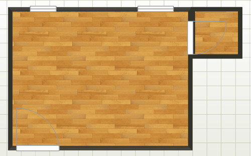 How can we fit two children into a small room for 10x13 room layouts