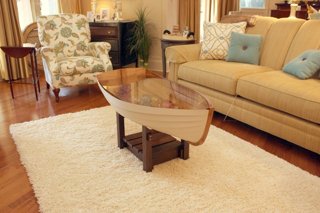 row boat coffee table plans