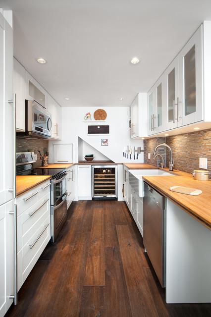 vancouver  shaughnessy condo kitchen  contemporary