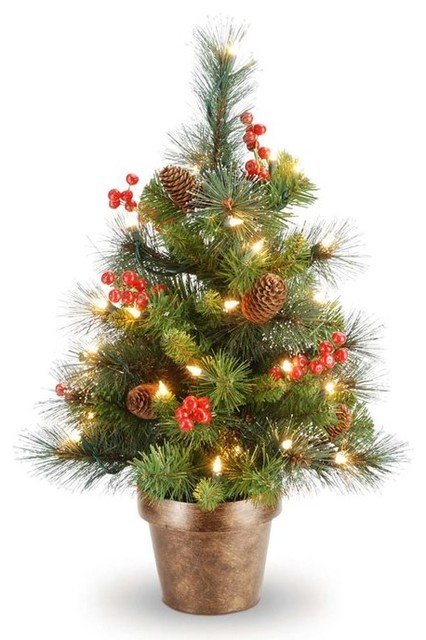 Crestwood Small Artificial Christmas Tree Traditional