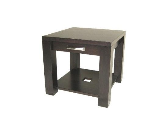 Creative Home Furnishings - Boxwood Furniture - Boxwood End Table