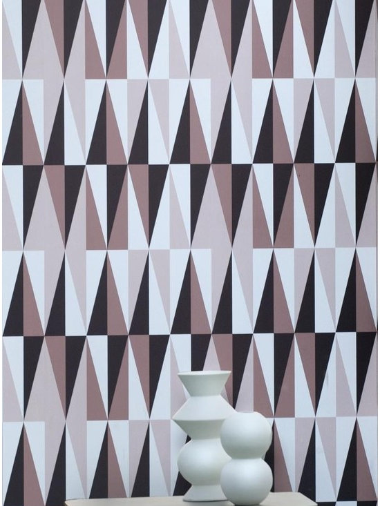 Ferm Living Rose Spear Wallpaper - Ferm Living's Wallpaper is graphic & whimsical adding character, charm and personality to any room. Wallpaper has a striking effect and will without a doubt turn your room into a sanctuary.