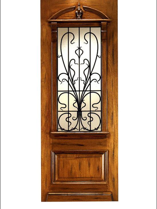 Art Nouveau Entry Doors Model # AN-2009 -