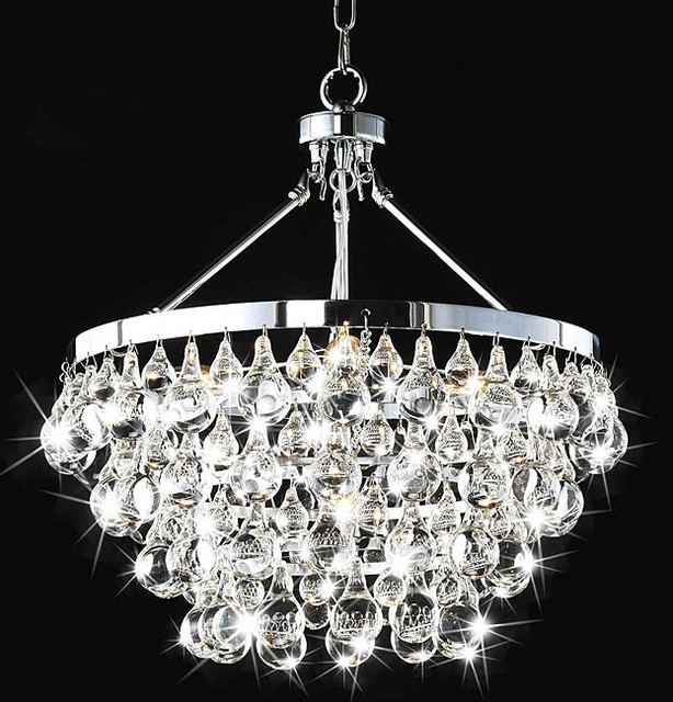 Indoor 5 light luxury crystal chandelier contemporary chandeliers by - Lights and chandeliers ...