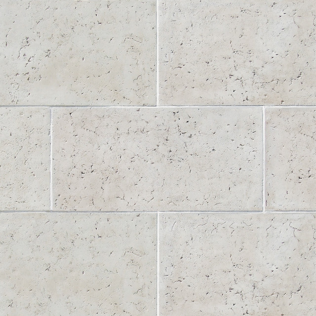 French Limestone Tile - Color: French White - Stone Veneer Tile ...