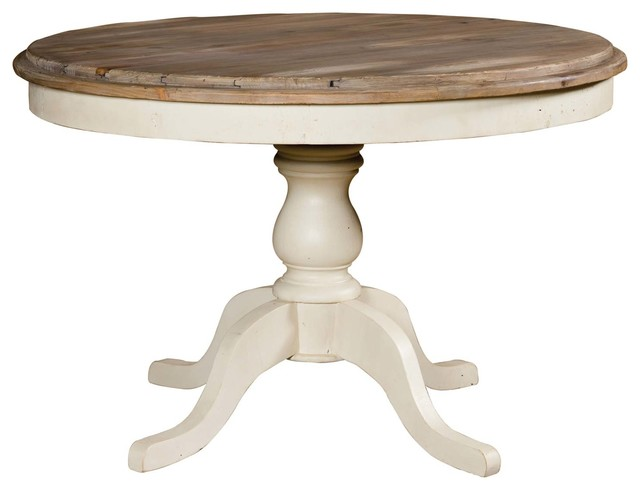 Sundried stucco white round dining table for White round dining table
