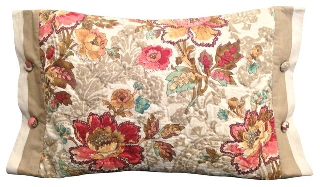 Rose Accent Pillow traditional-decorative-pillows